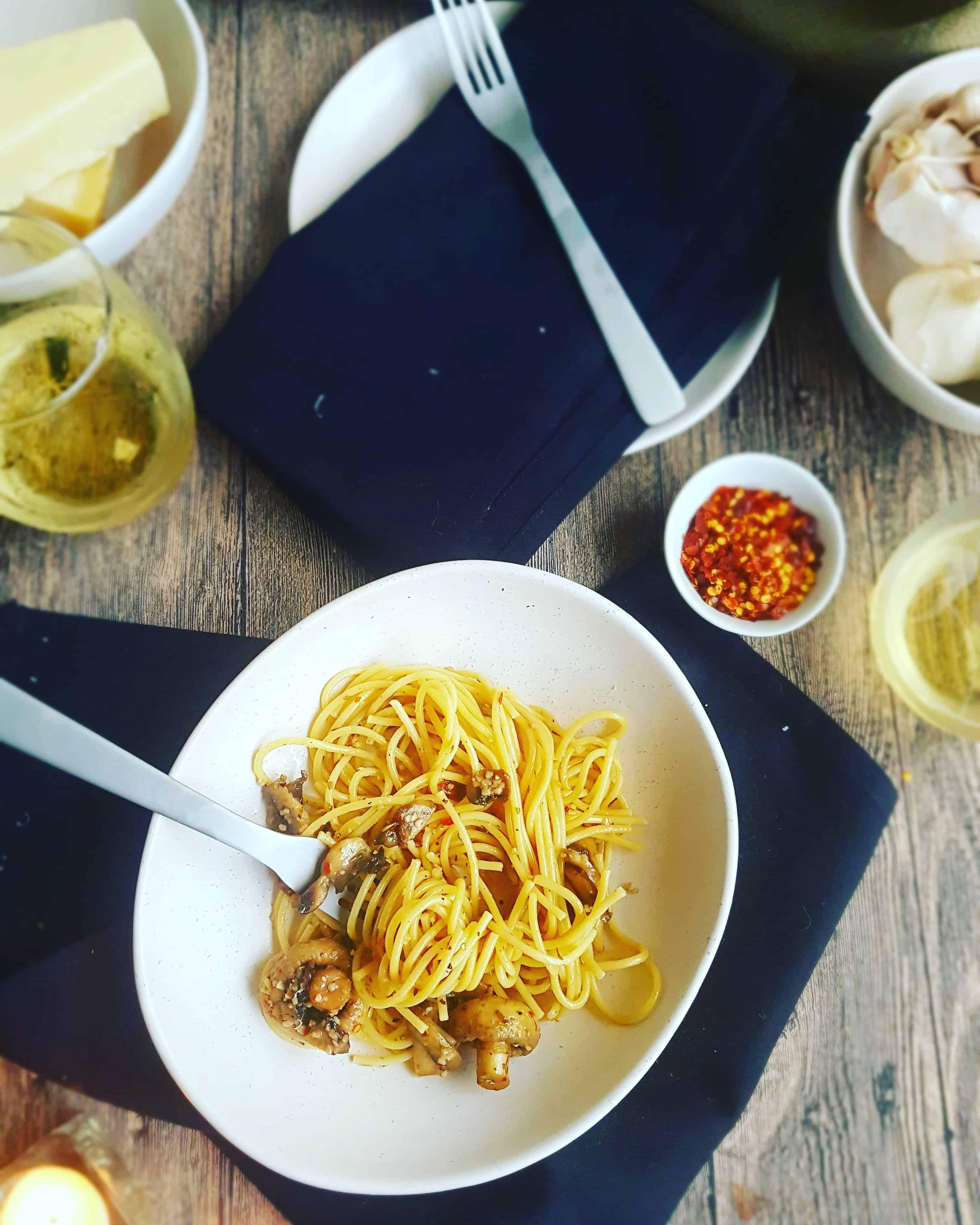 Mushroom Spaghetti 2