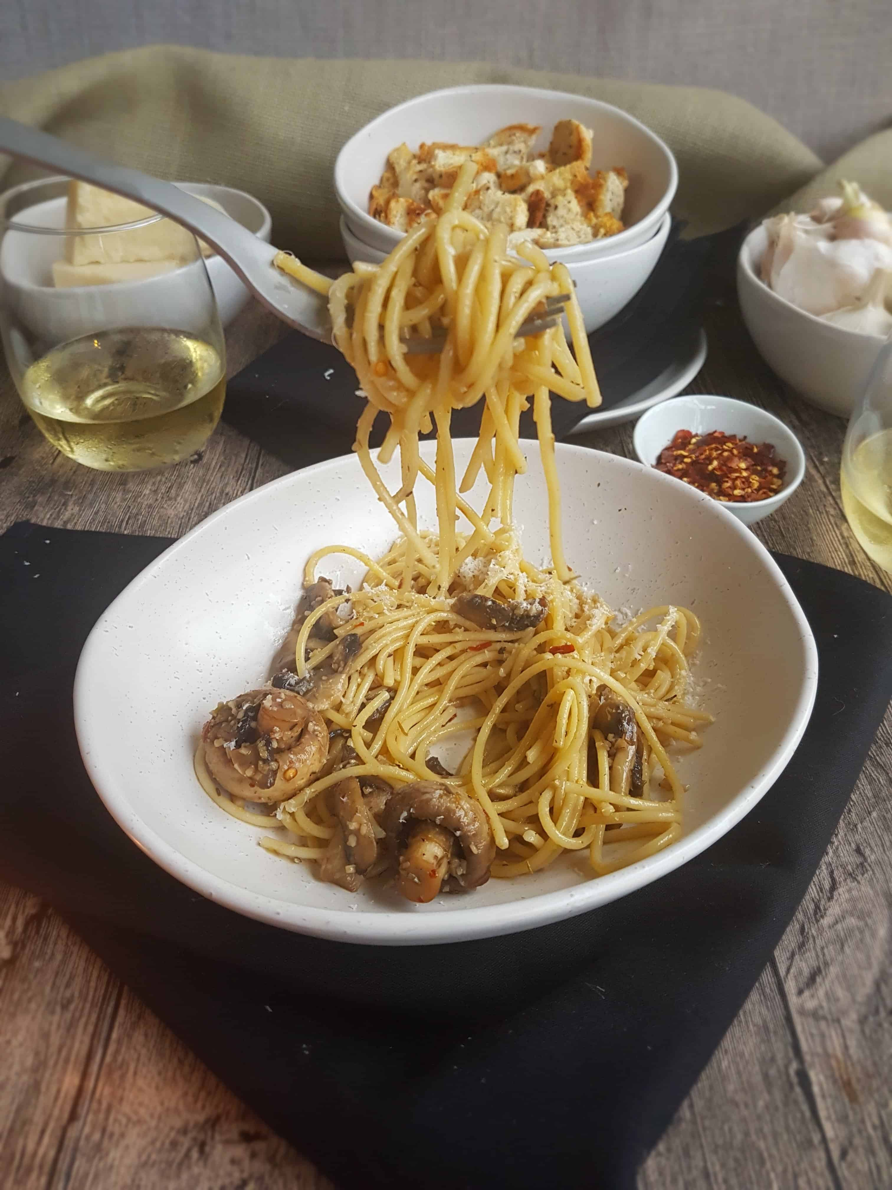 Mushroom Spaghetti 3