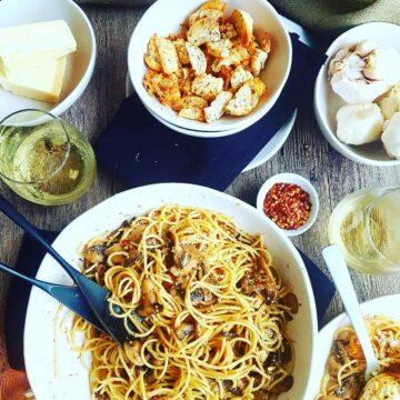 Mushroom Spaghetti 1
