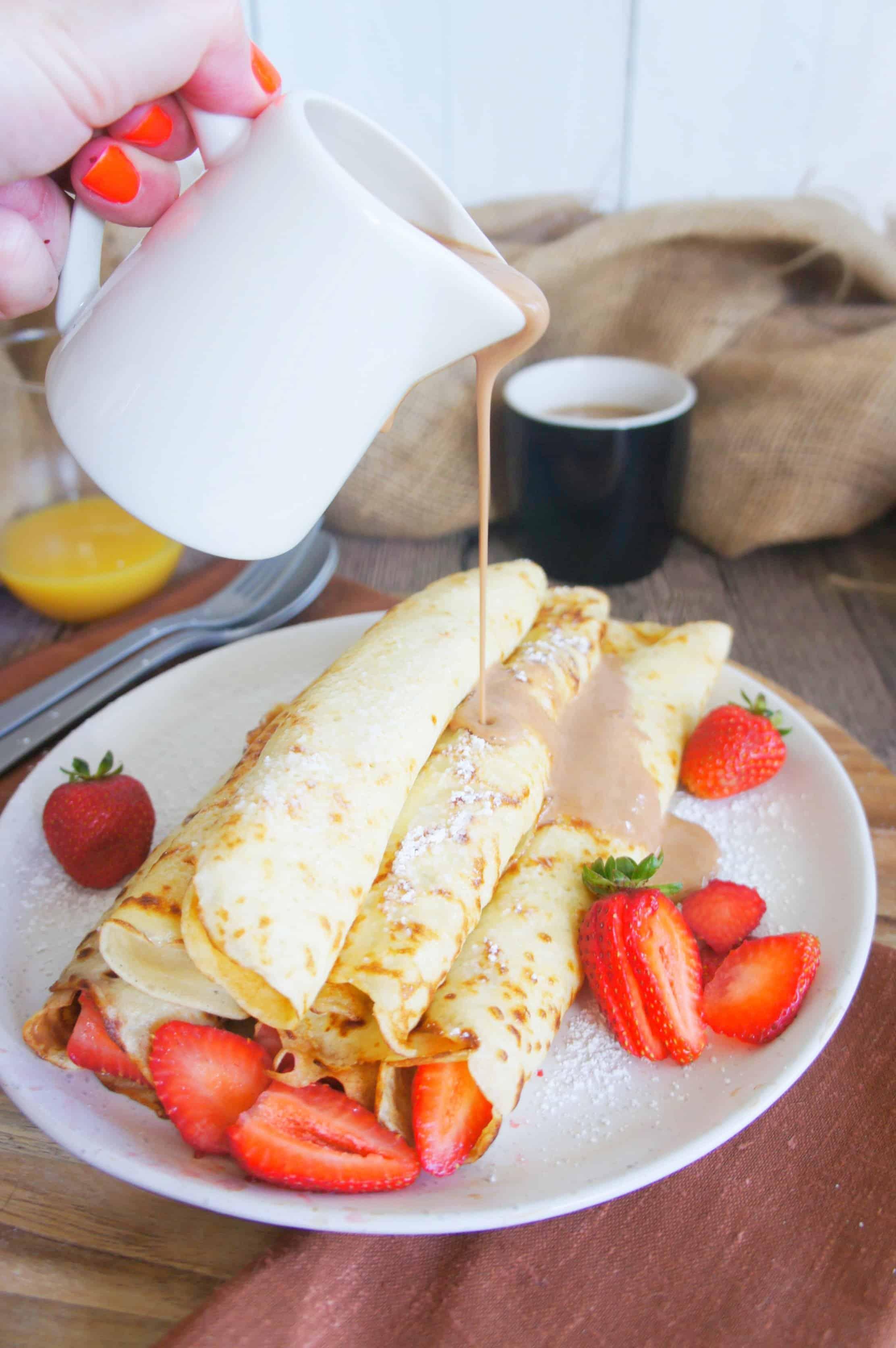Sweet Caramel Sunday - Strawberry crepes 6
