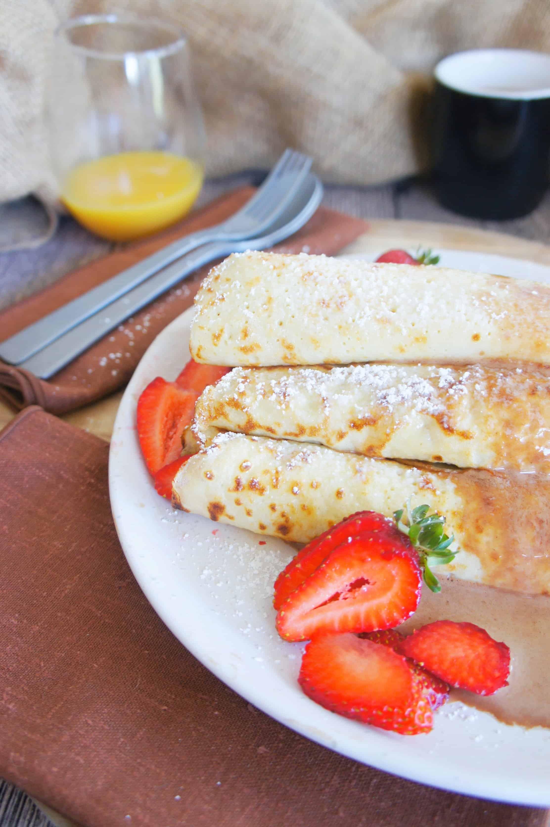 Sweet Caramel Sunday - Strawberry crepes 5