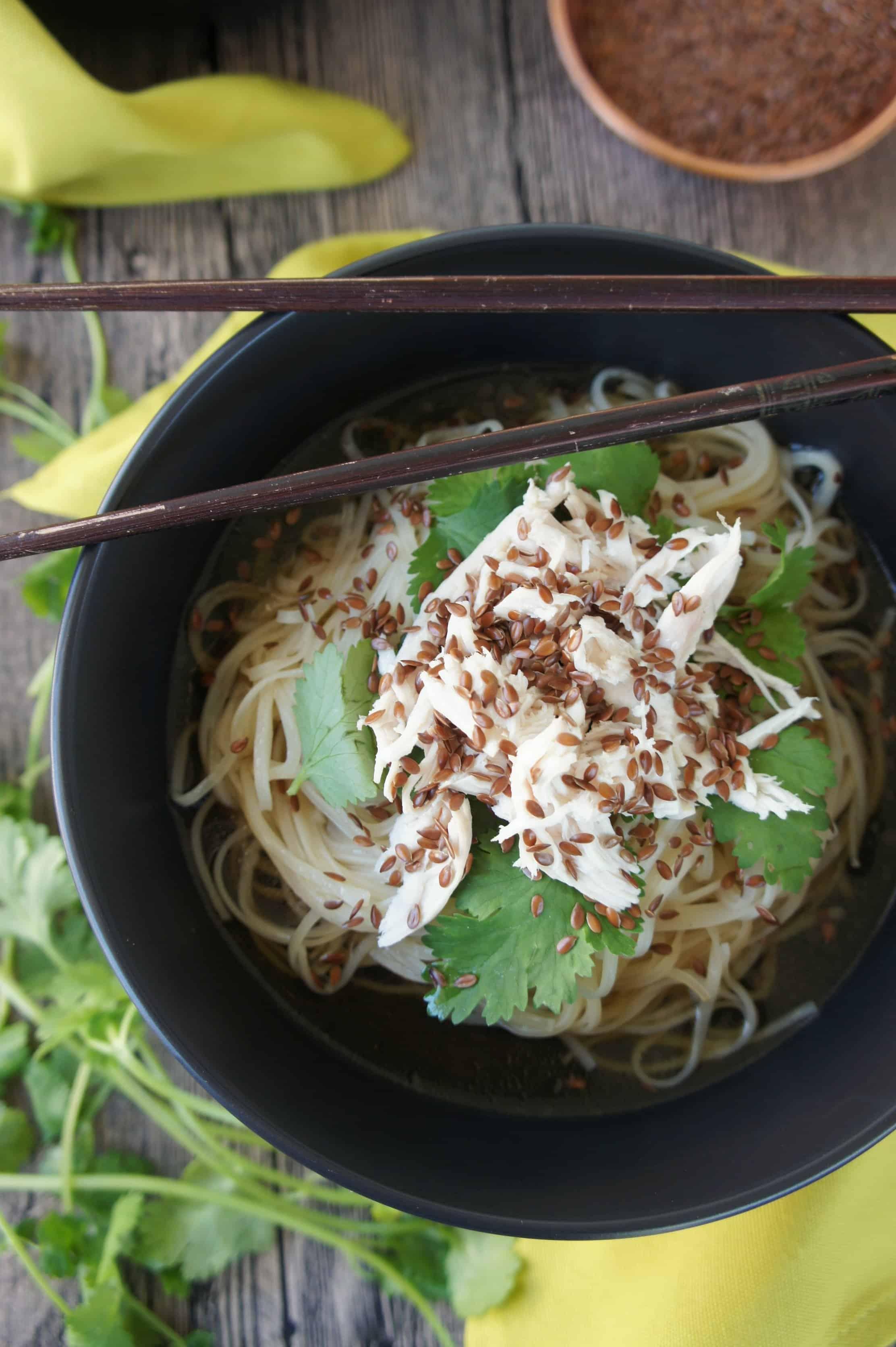 Sweet Caramel Sunday - Chicken Noodle Bowl