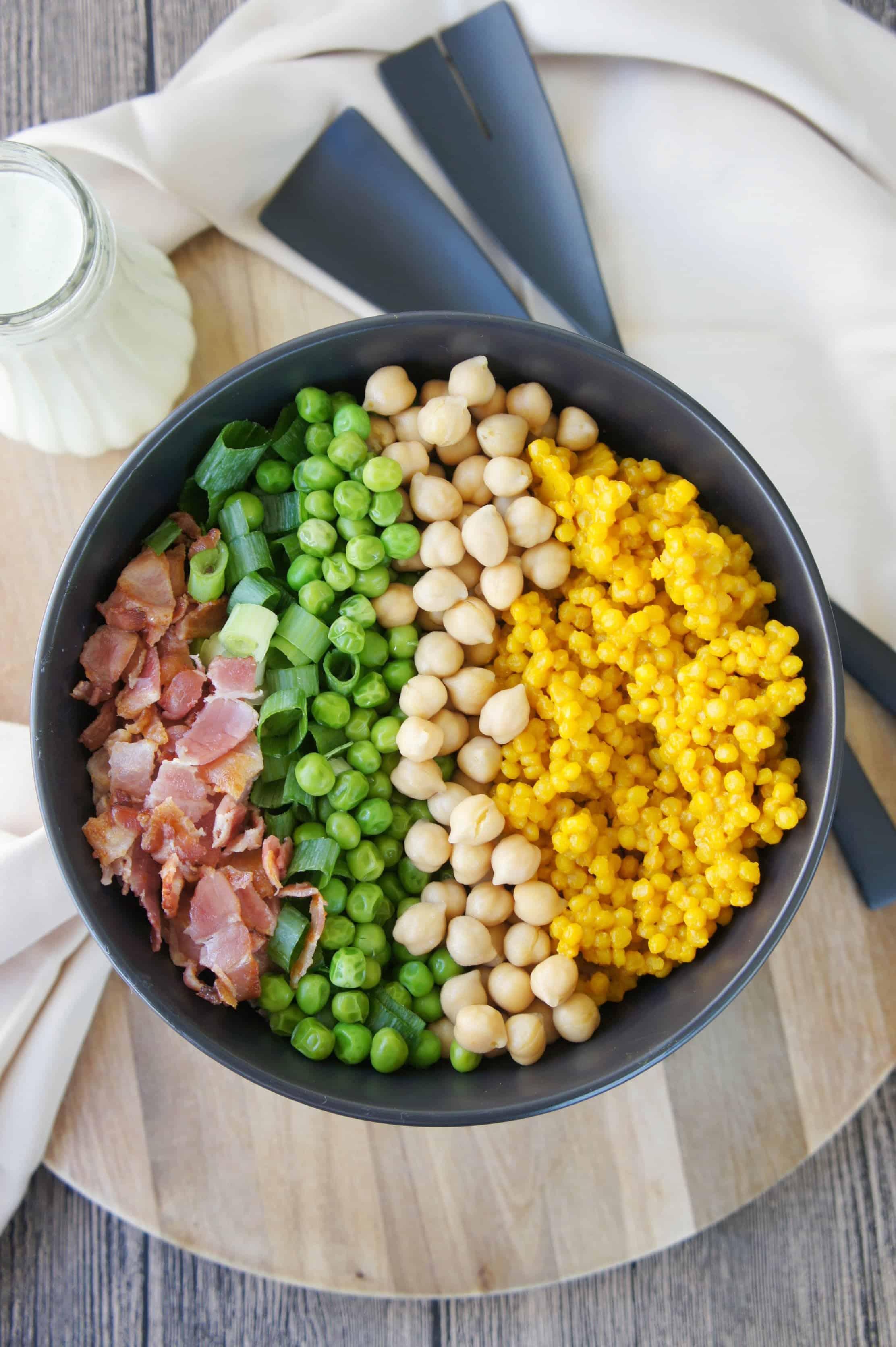 Turmeric Cous Cous Salad 3- Sweet Caramel Sunday