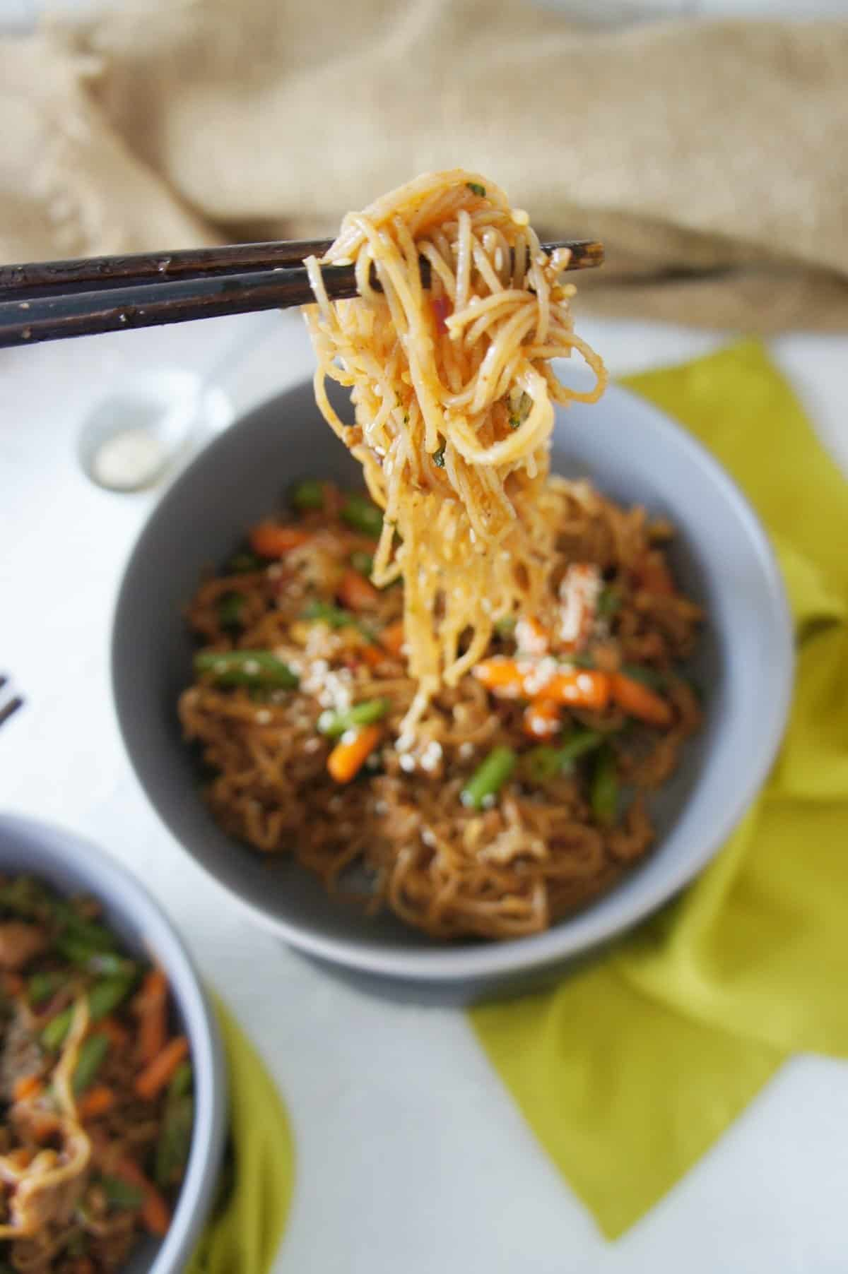 Brown Rice Noodle Stiryfry - SCS 1