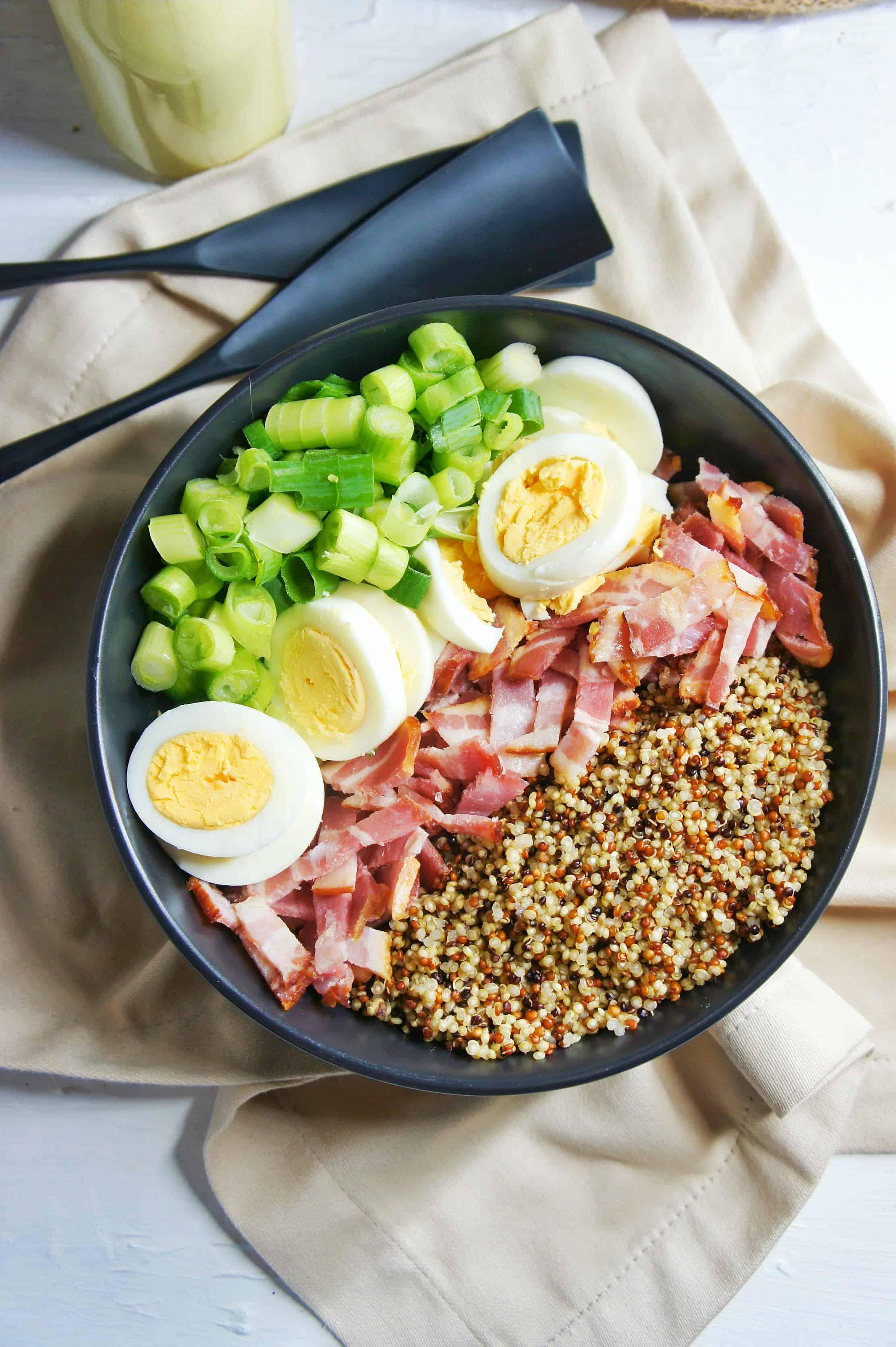 Bacon and Egg Salad 1 | Sweet Caramel Sunday