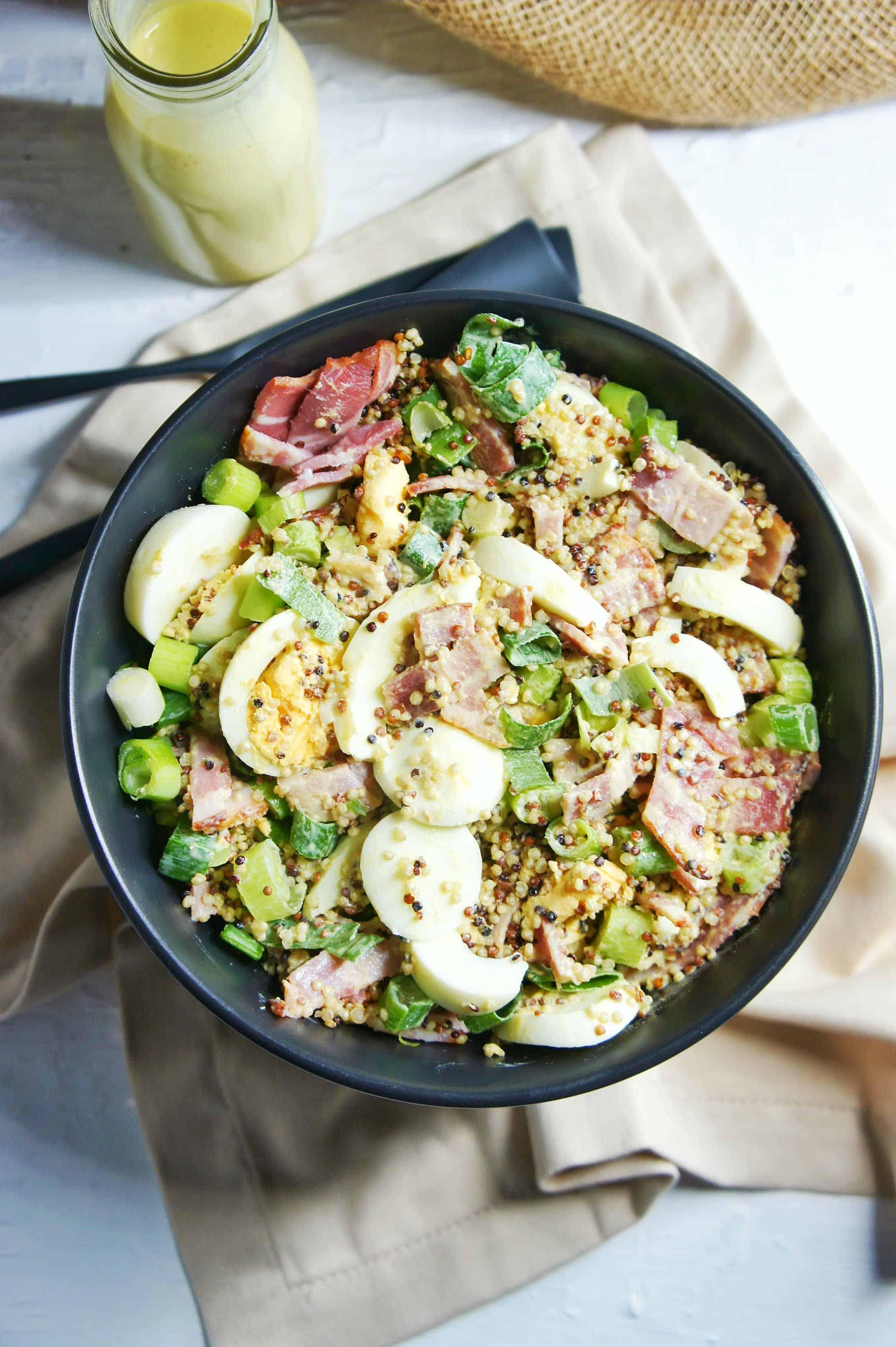 Bacon and Egg Salad 3 | Sweet Caramel Sunday