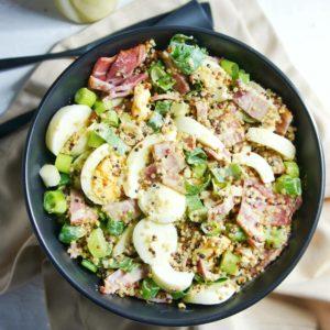 Bacon and Egg Salad 5 | Sweet Caramel Sunday