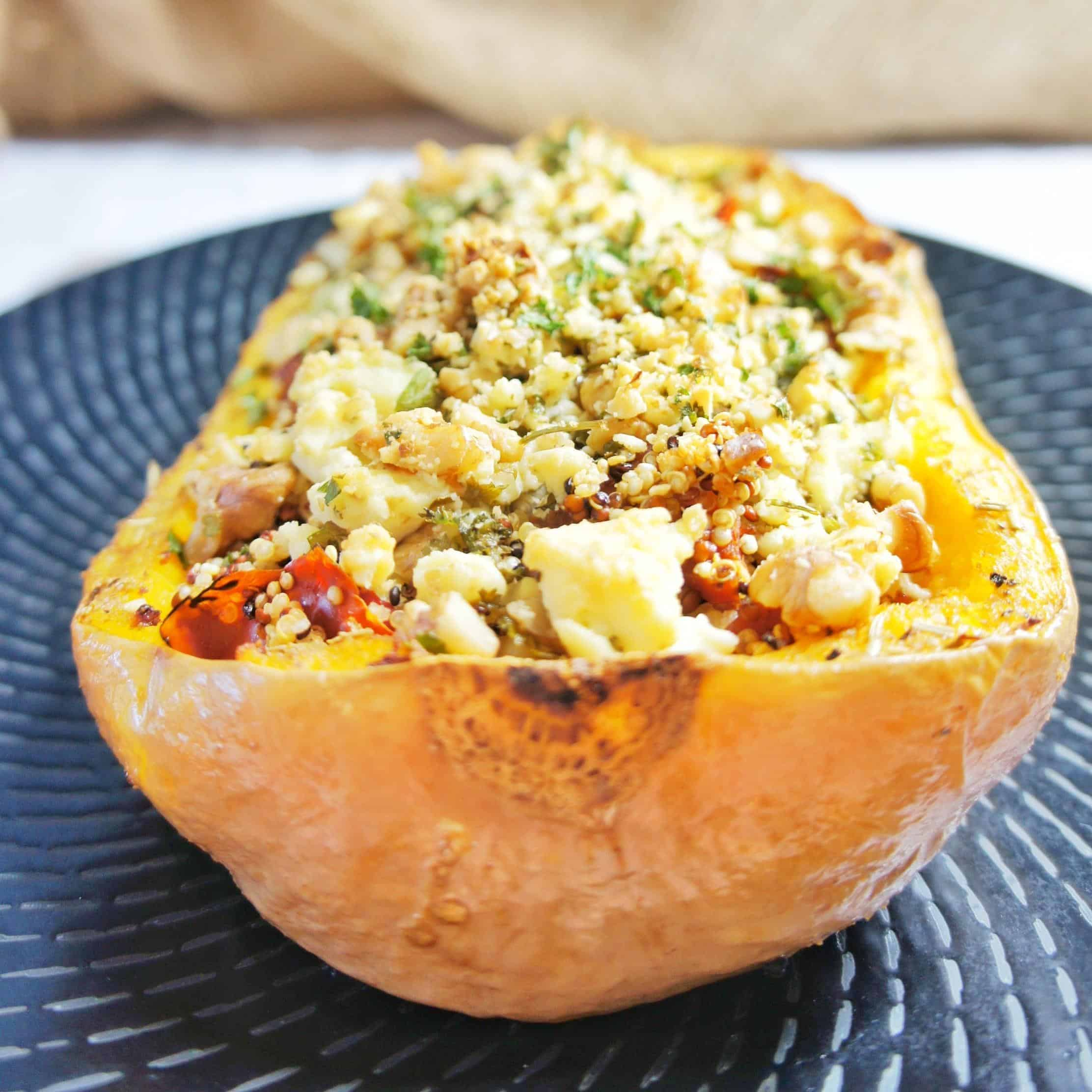 Baked Stuffed Pumpkin 7 | Sweet Caramel Sunday