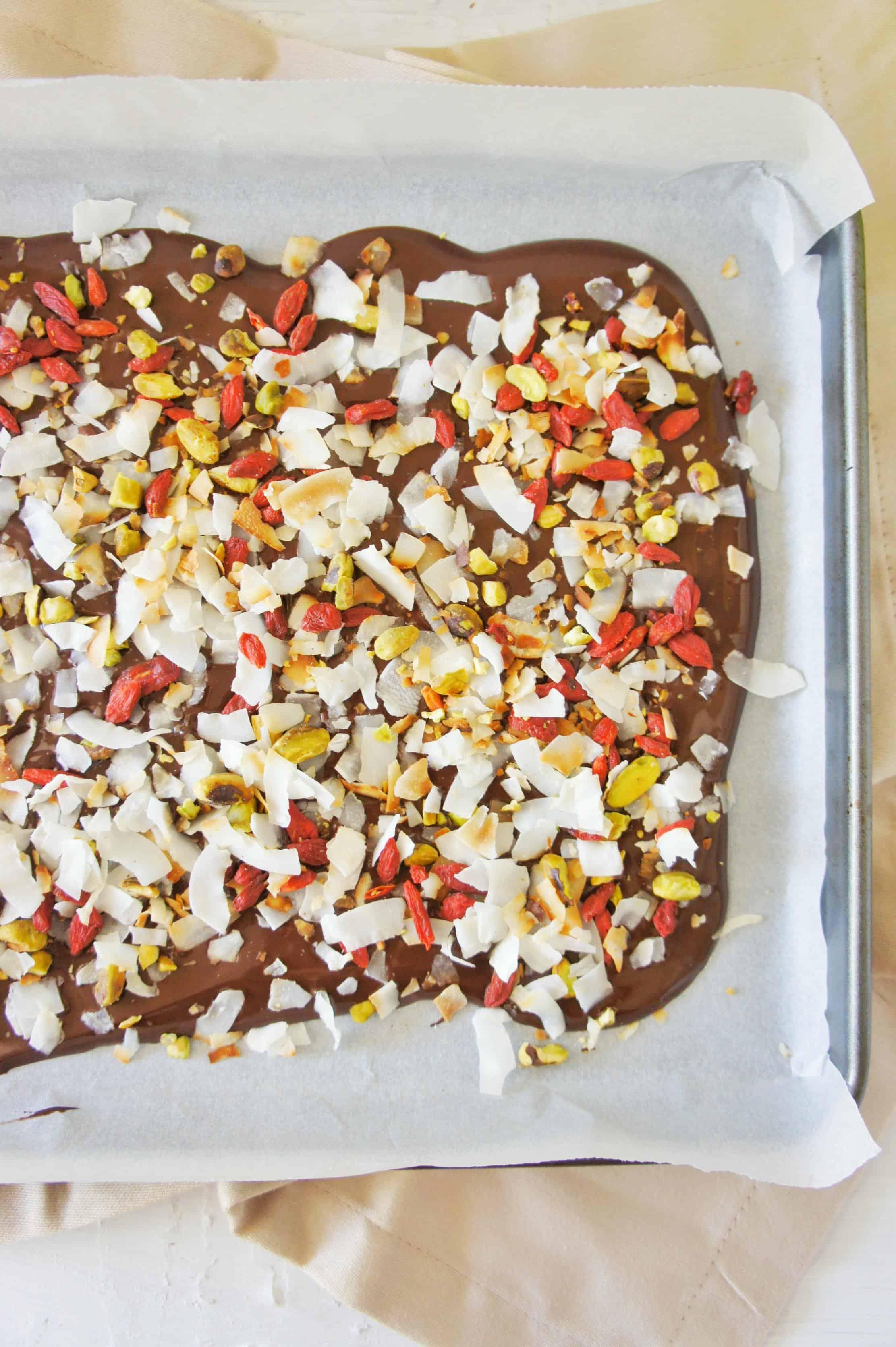 Dark Chocolate Bark 3 | Sweet Caramel Sunday