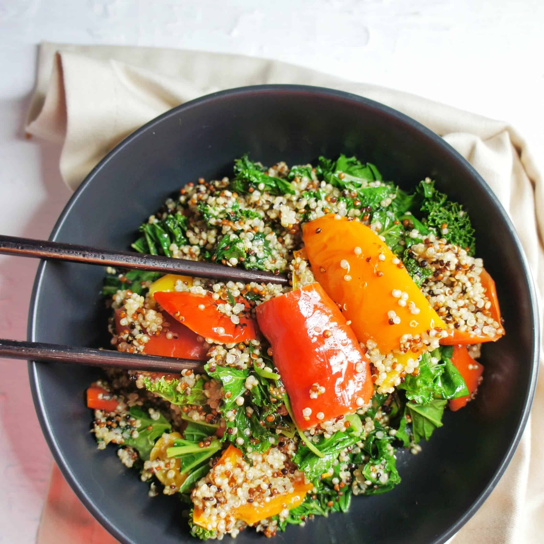 Dukkah Tofu Salad 4 | Sweet Caramel Sunday
