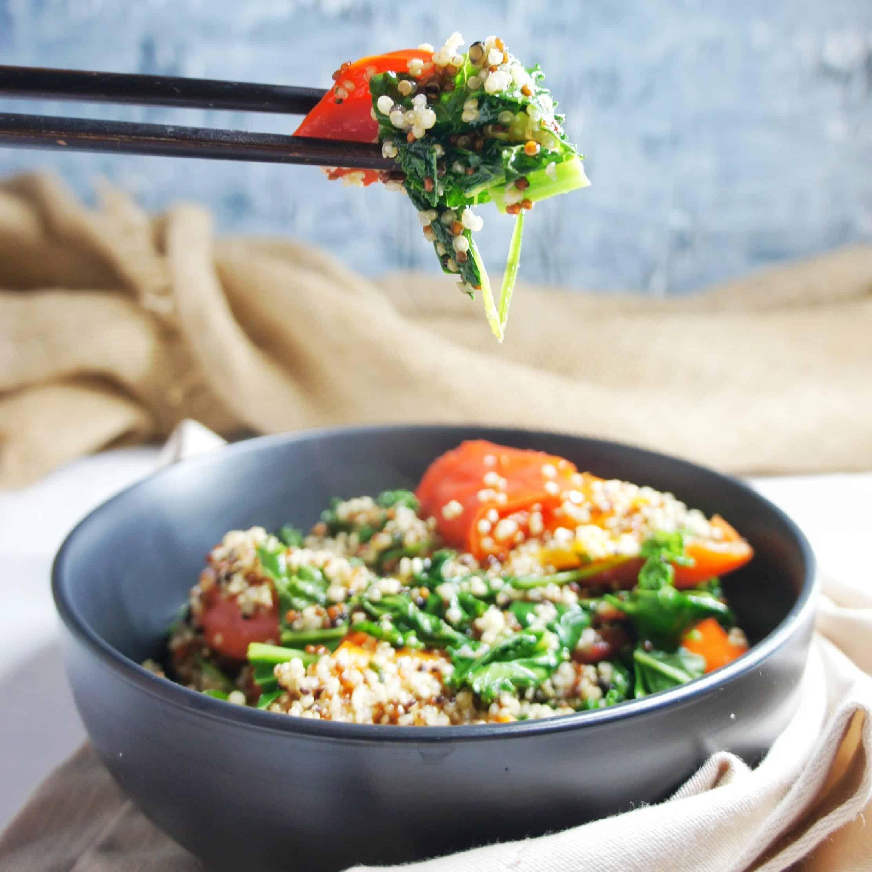 Dukkah Tofu Salad 7 | Sweet Caramel Sunday