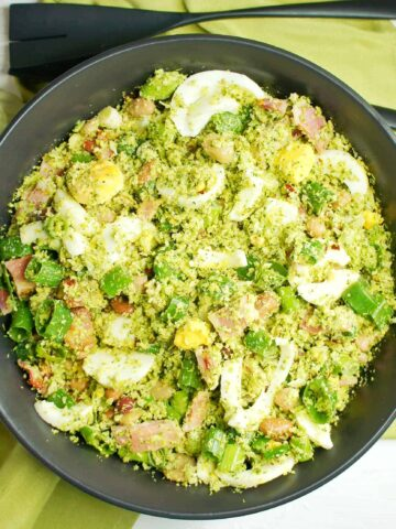 Broccoli Rice Salad 7 | Sweet Caramel Sunday