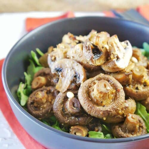 Garlic Mushrooms 3 | Sweet Caramel Sunday