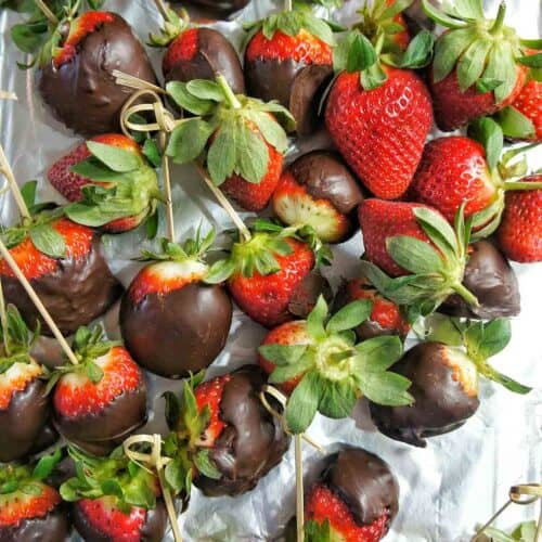 Chocolate Covered Strawberries 2 | Sweet Caramel Sunday