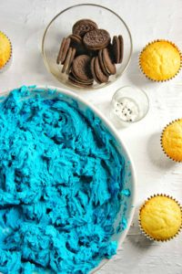 Cookie Monster Cupcakes 1 | Sweet Caramel Sunday