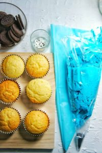 Cookie Monster Cupcakes 2 | Sweet Caramel Sunday