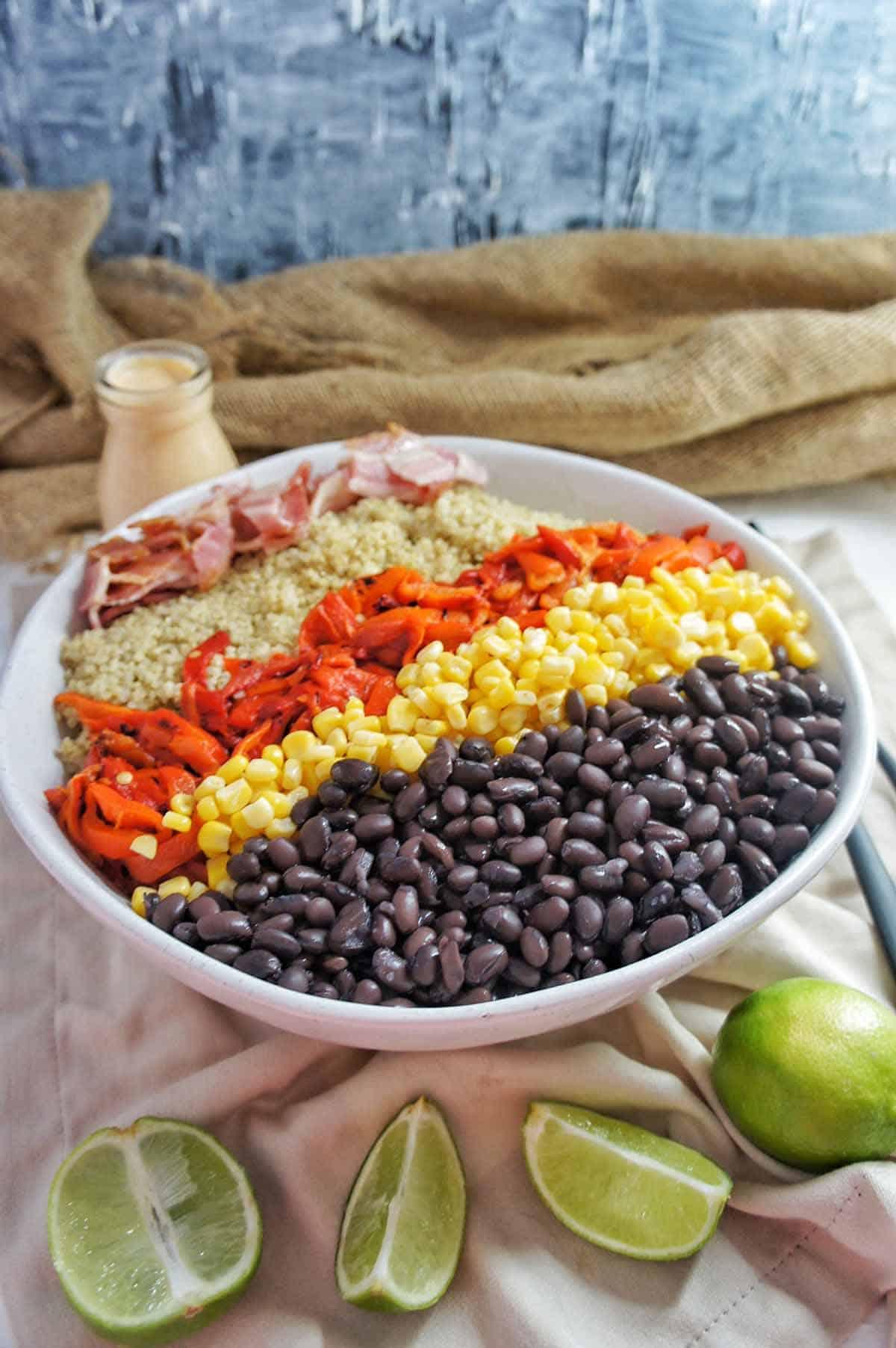 Mexican Quinoa Salad 3 | Sweet Caramel Sunday