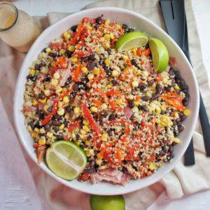 Mexican Quinoa Salad | Sweet Caramel Sunday