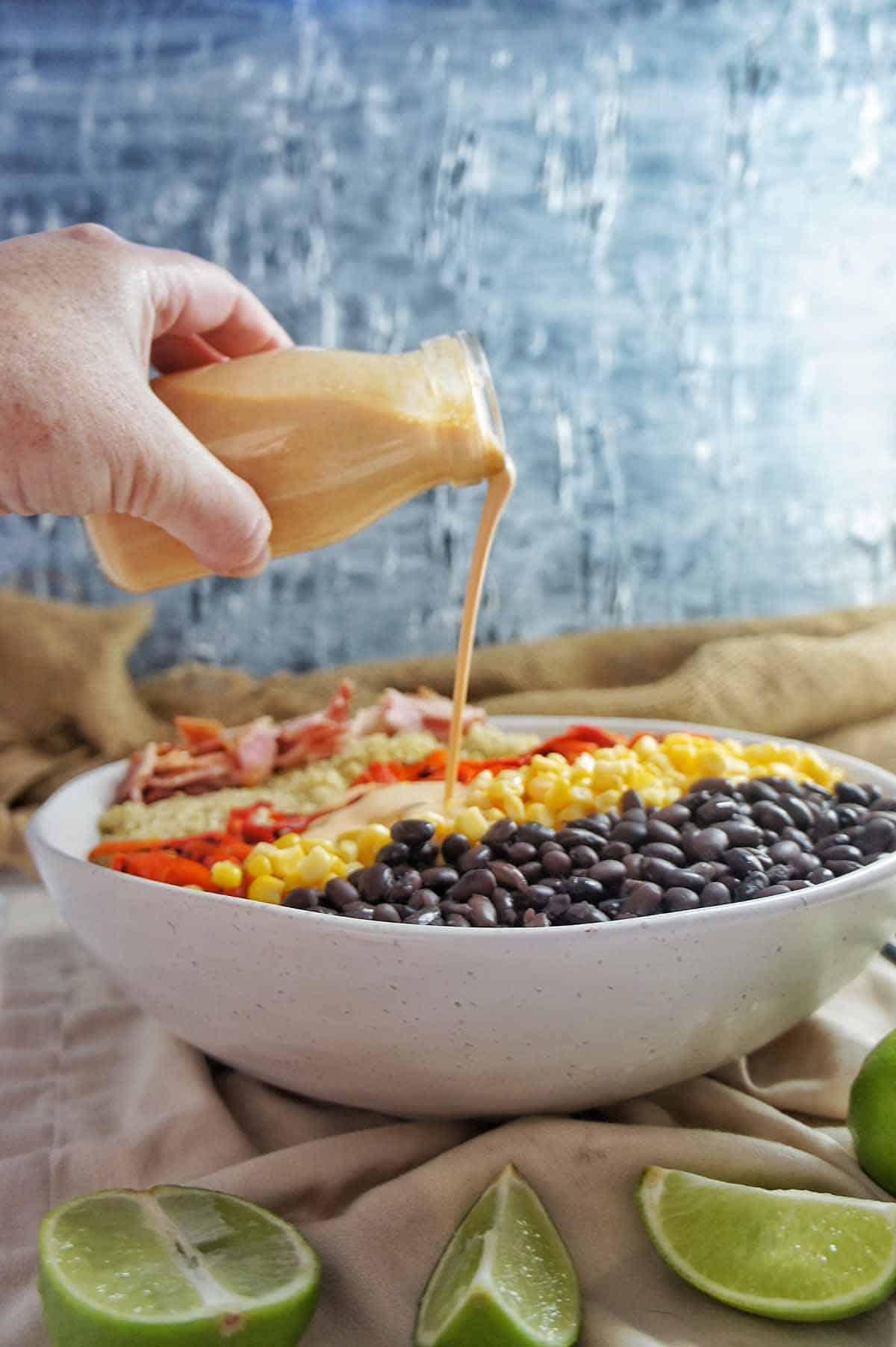 Mexican Quinoa Salad 4 | Sweet Caramel Sunday