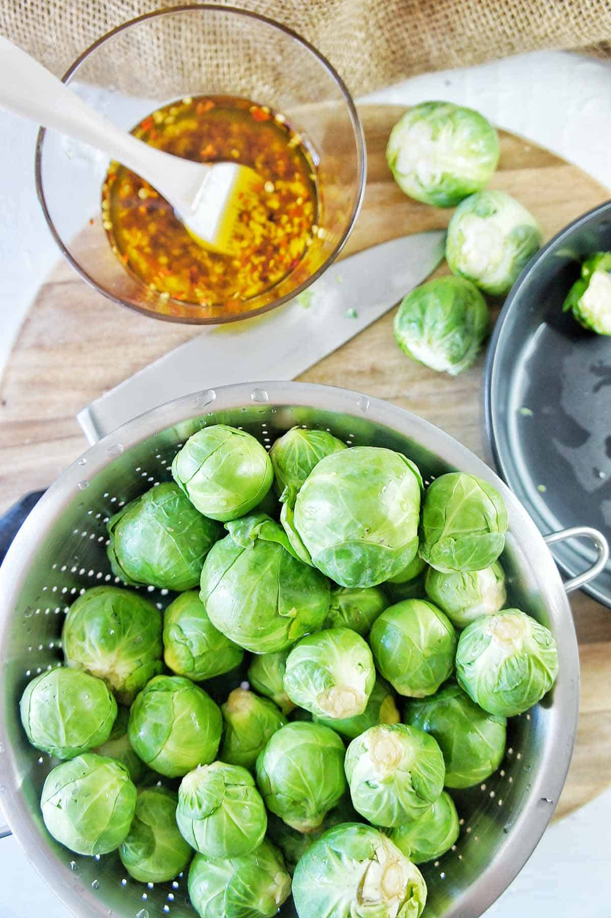 Roasted Brussel Sprouts 2   Sweet Caramel Sunday