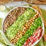 Shredded Brussels Sprout Quinoa Salad 1