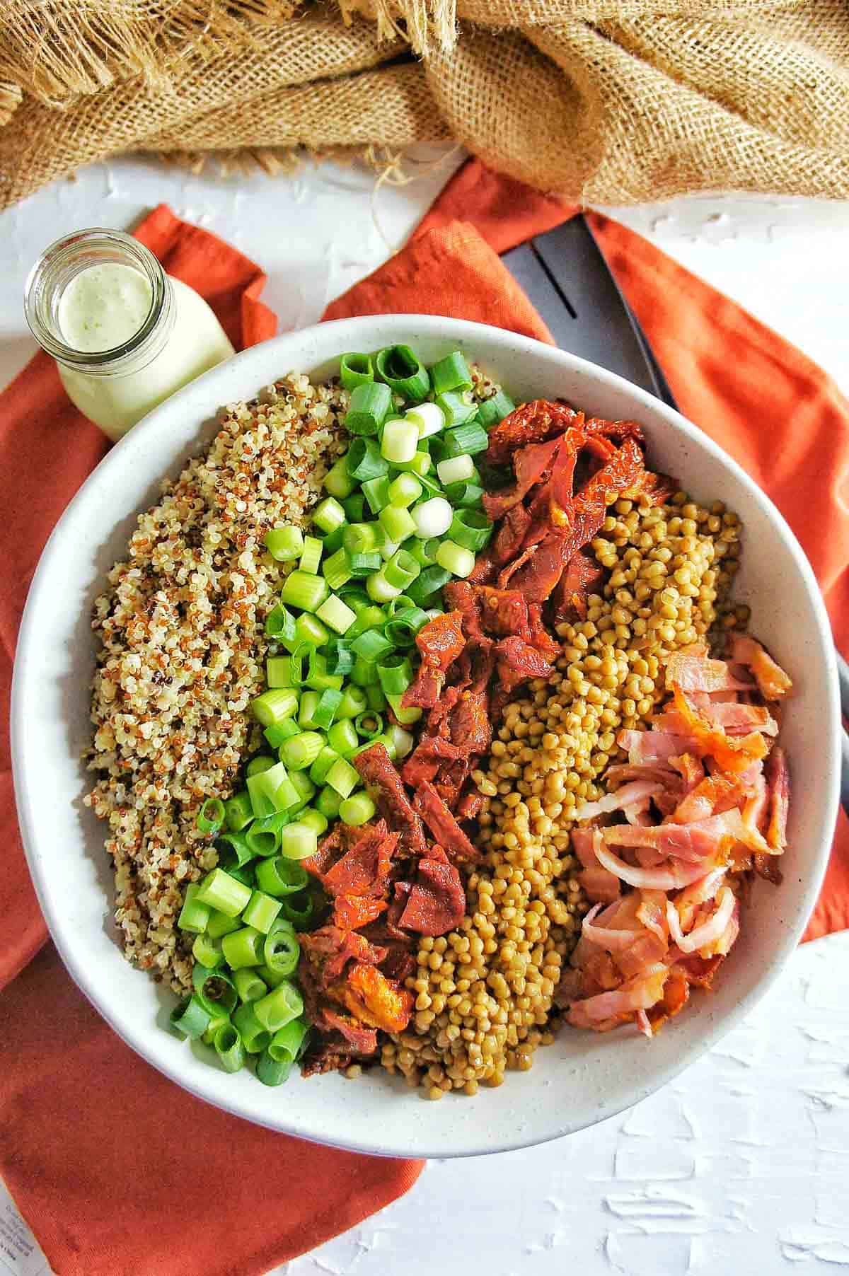 Sun-Dried tomato Quinoa Salad 2 | Sweet Caramel Sunday