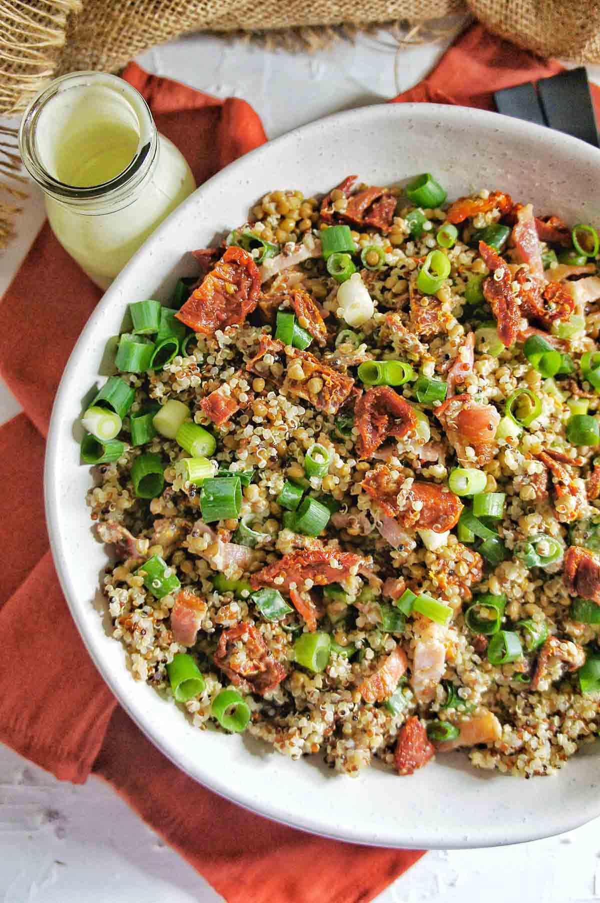 Sun-Dried tomato Quinoa Salad 5 | Sweet Caramel Sunday