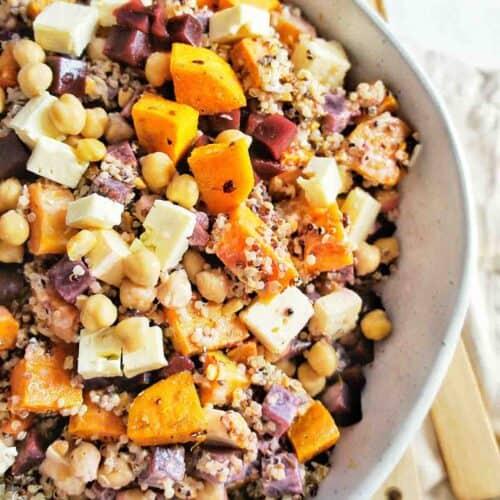 Sweet Potato Quinoa Salad 8 | Sweet Caramel Sunday