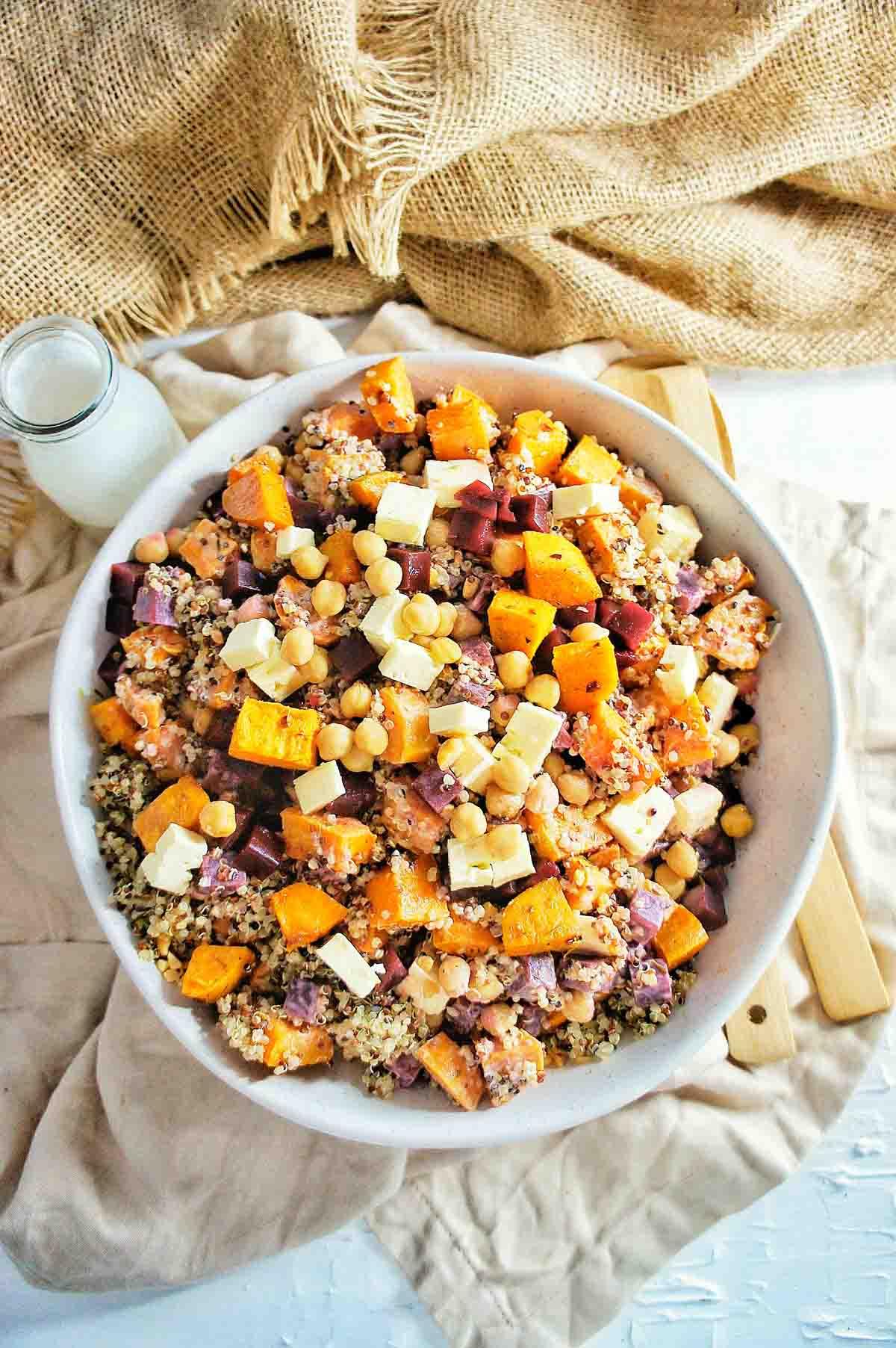 Sweet Potato Quinoa Salad 9 | Sweet Caramel Sunday