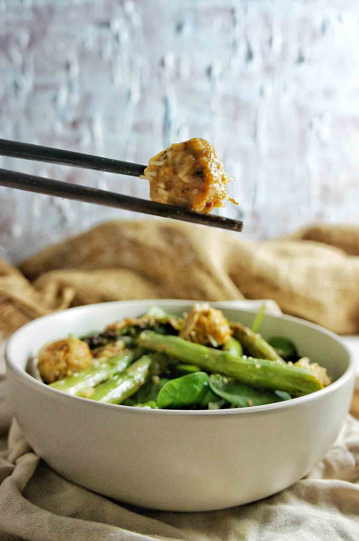 Chicken Meatballs 4 | Sweet Caramel Sunday