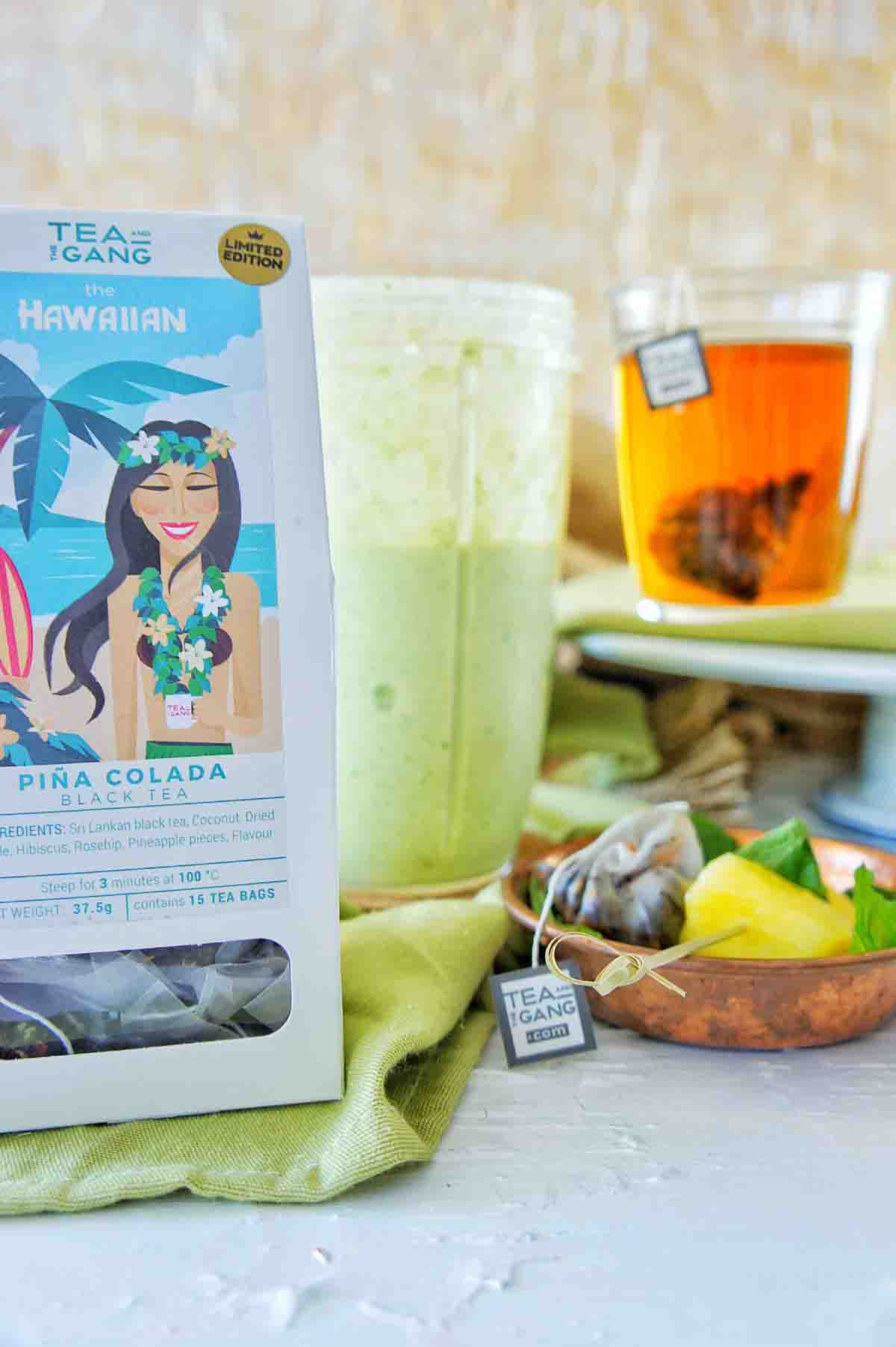 Pine Colada Smoothie 4 | Sweet Caramel Sunday