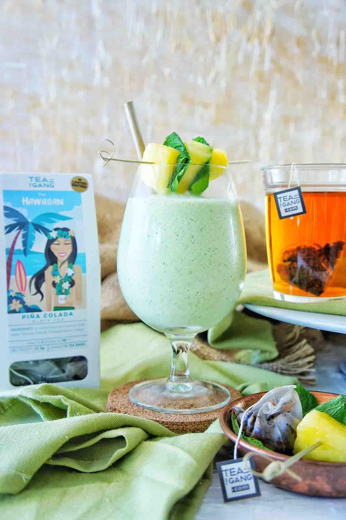 Pine Colada Smoothie 7 | Sweet Caramel Sunday