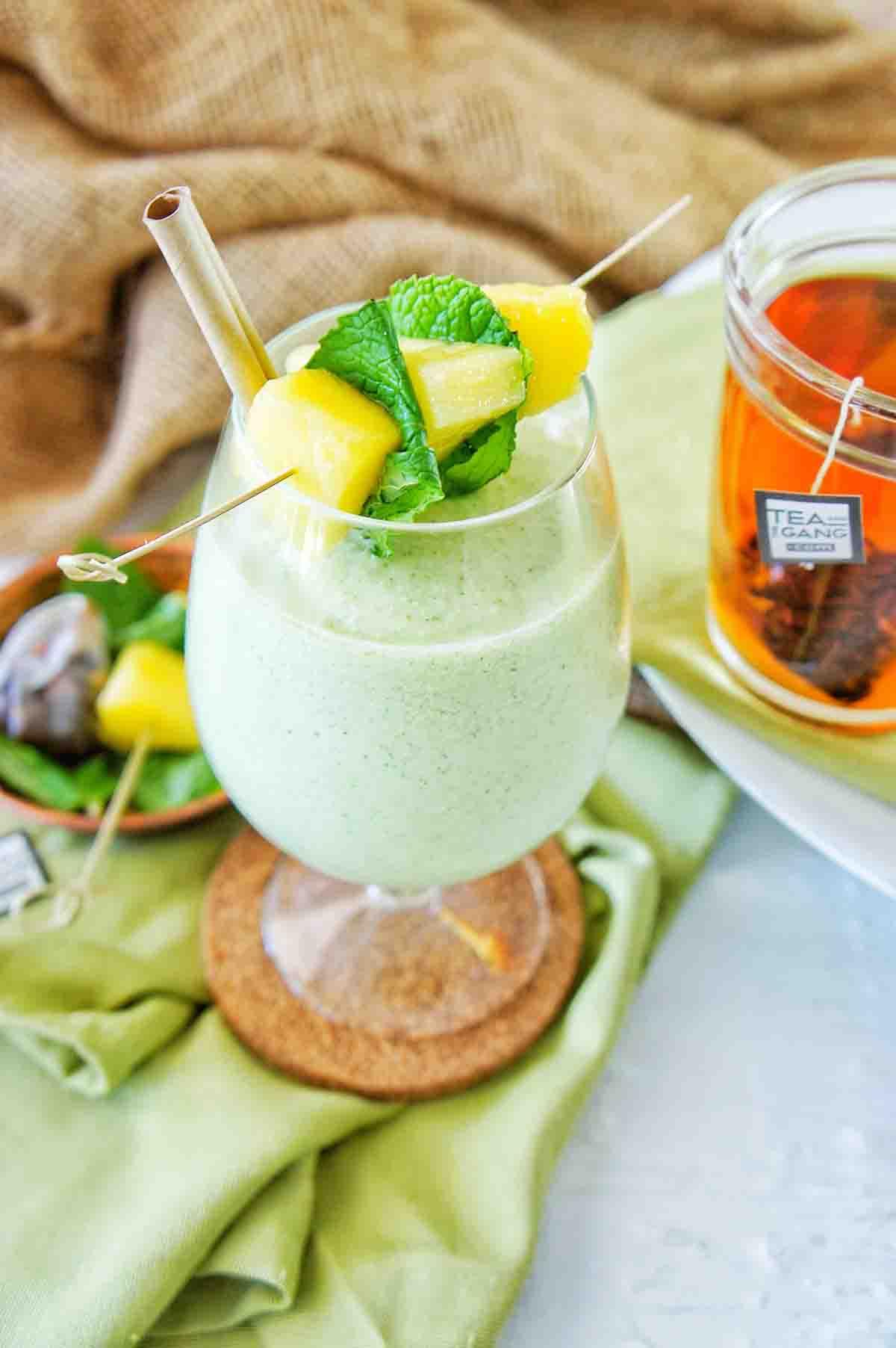 Pine Colada Smoothie 8 | Sweet Caramel Sunday