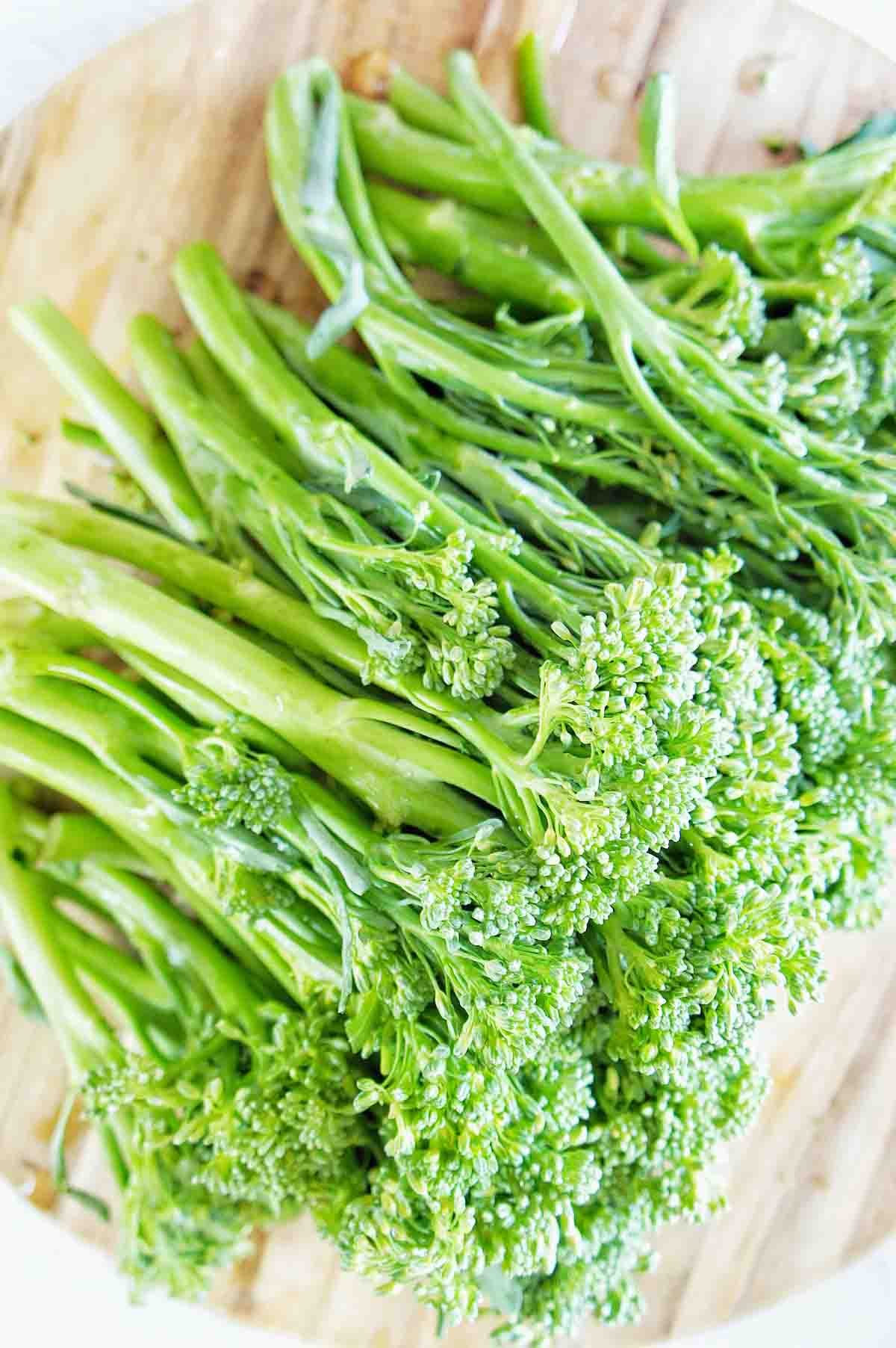 Steamed Broccolini 1 | Sweet Caramel Sunday