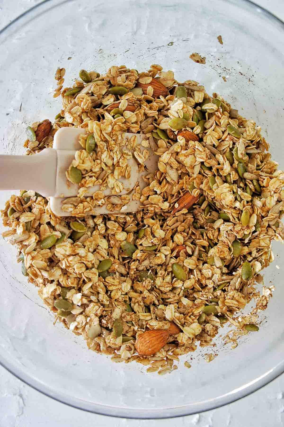 Homemade Coconut Granola 02 | Sweet Caramel Sunday