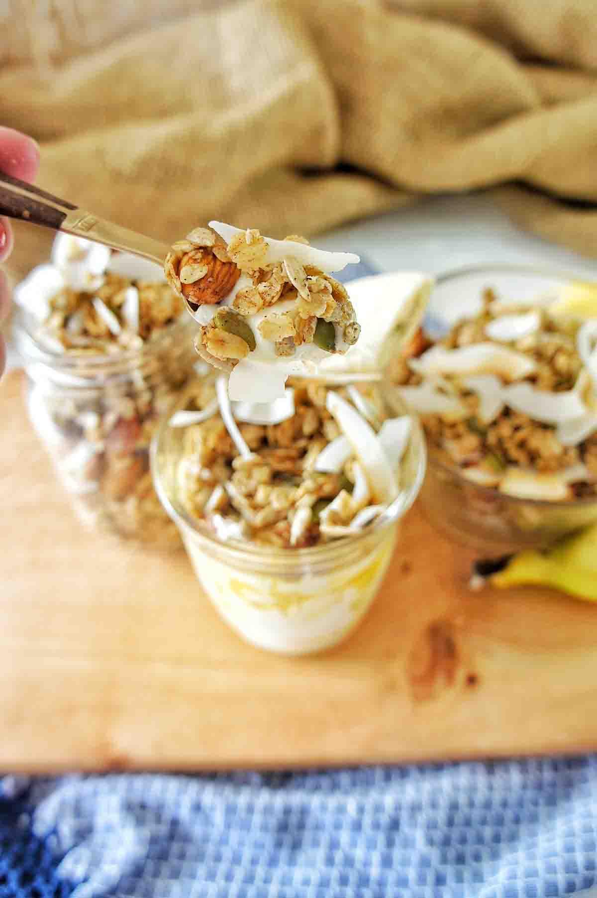 Homemade Coconut Granola 19 | Sweet Caramel Sunday