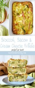 Broccoli Bacon Frittata Recipe | Sweet Caramel Sunday