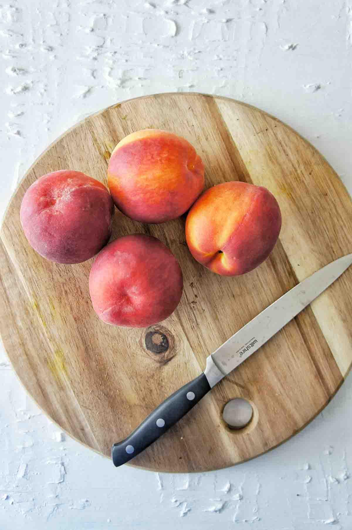 Peach Tartlets Recipe 06 | Sweet Caramel Sunday