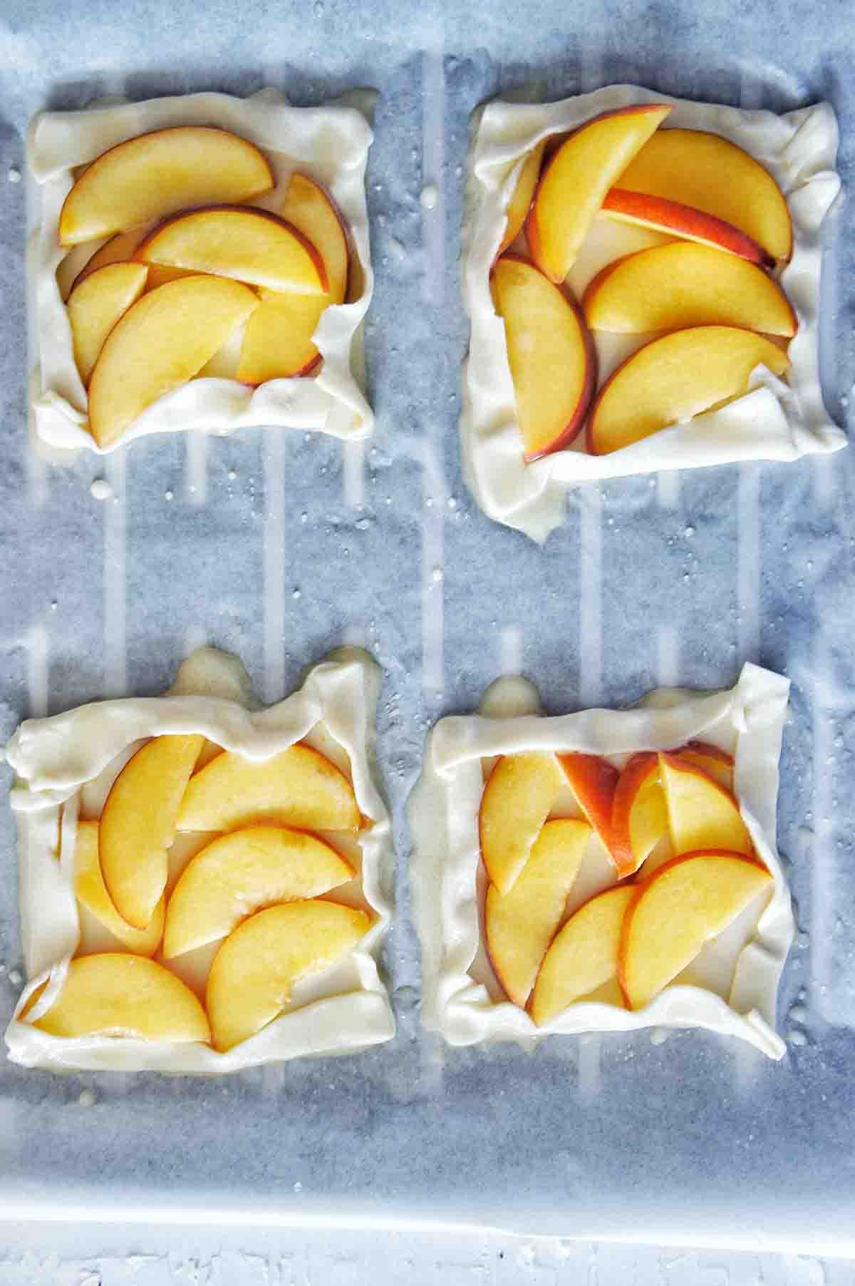 Peach Tartlets Recipe 07 | Sweet Caramel Sunday