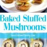 Baked Stuffed Mushrooms