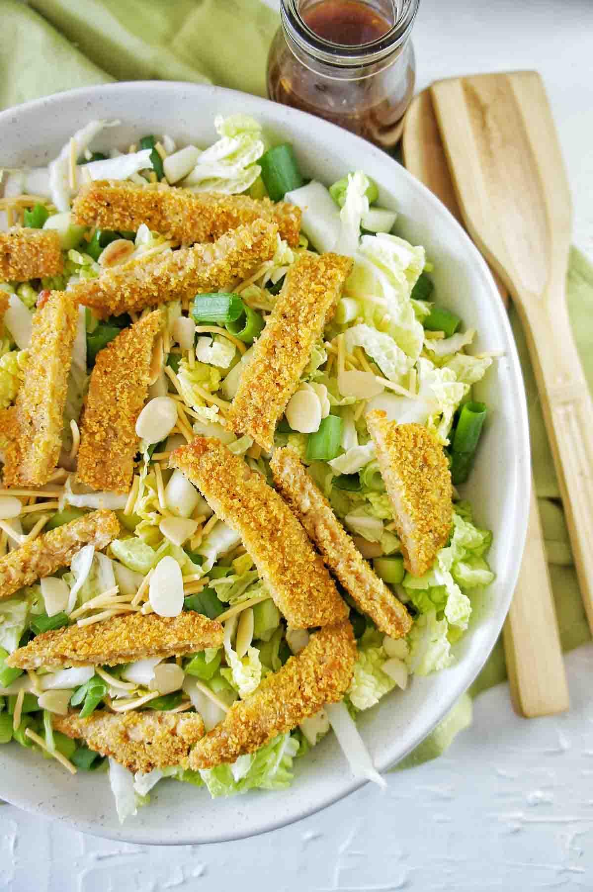 Vegan Schnitzel Salad 11