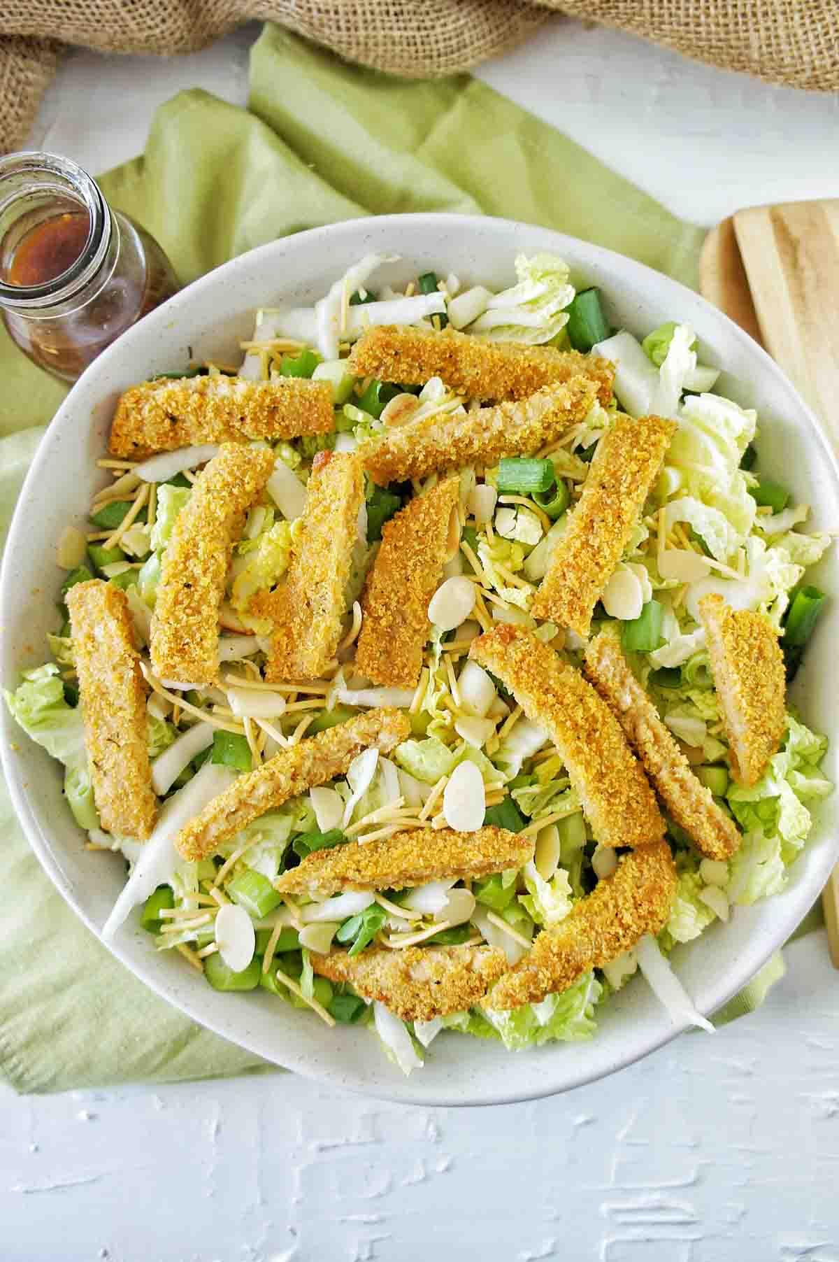 Vegan Schnitzel Salad 13