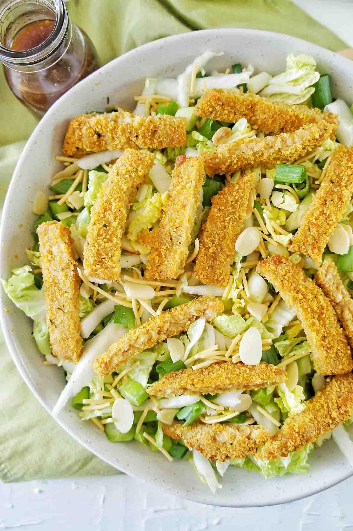 Vegan Schnitzel Salad 18