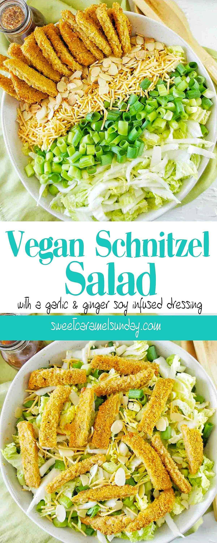 Vegan Schnitzel Salad Recipe