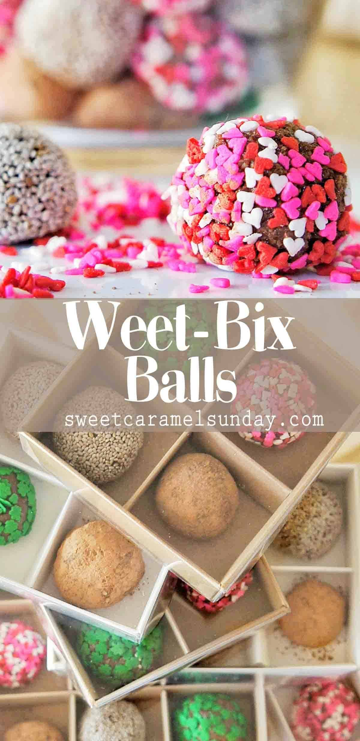 Weet-Bix Balls with text overlay