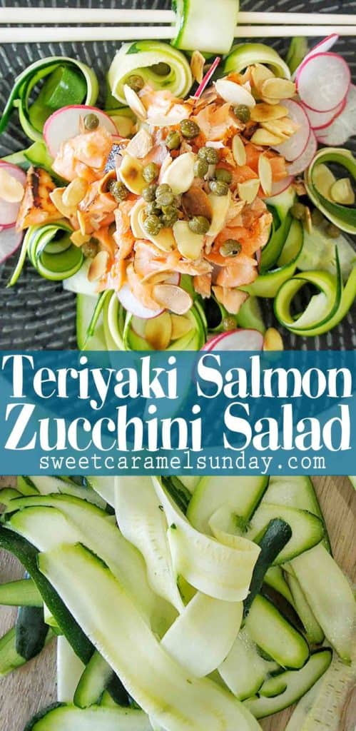 Easy Teriyaki Salmon Salad