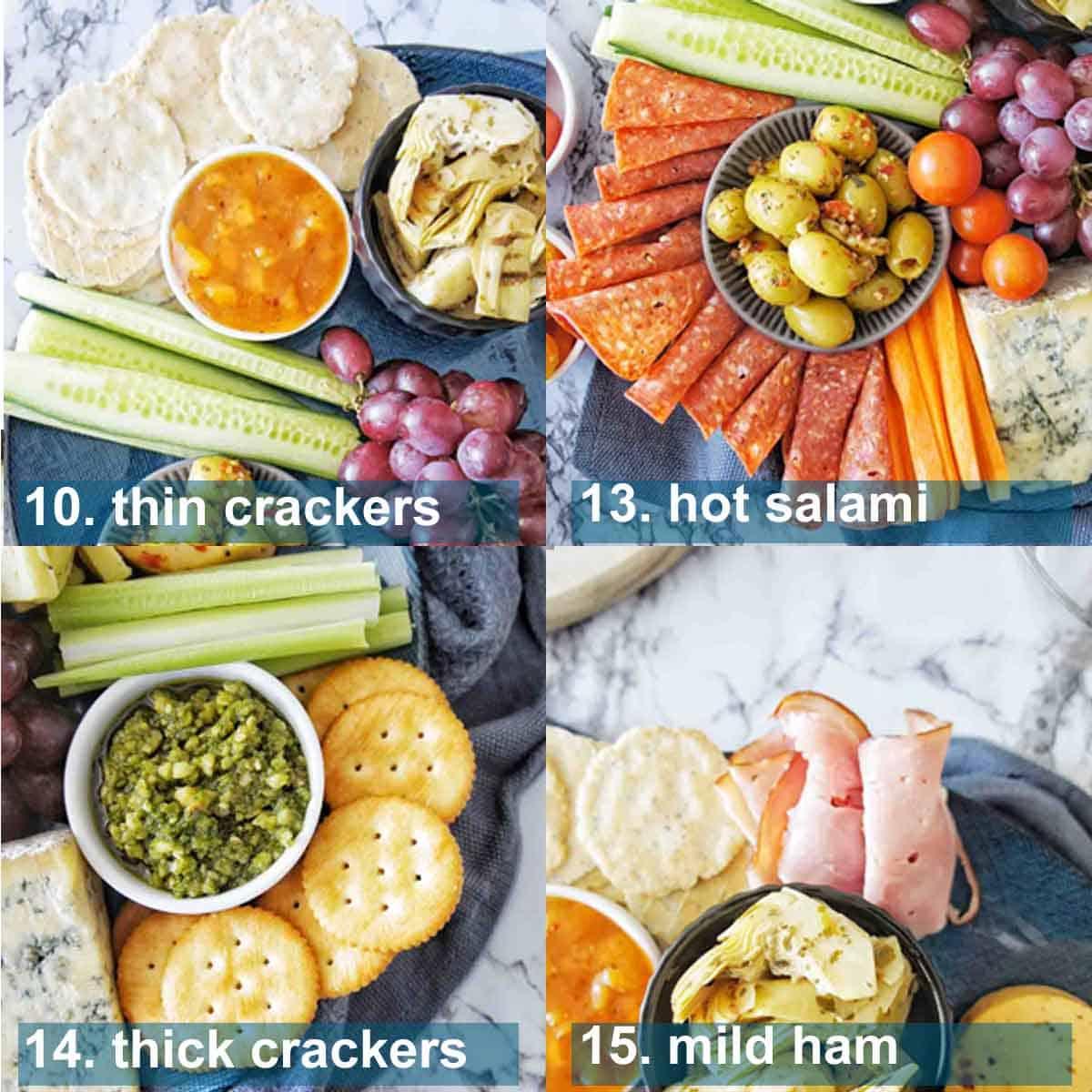 Grazing Platter essential steps