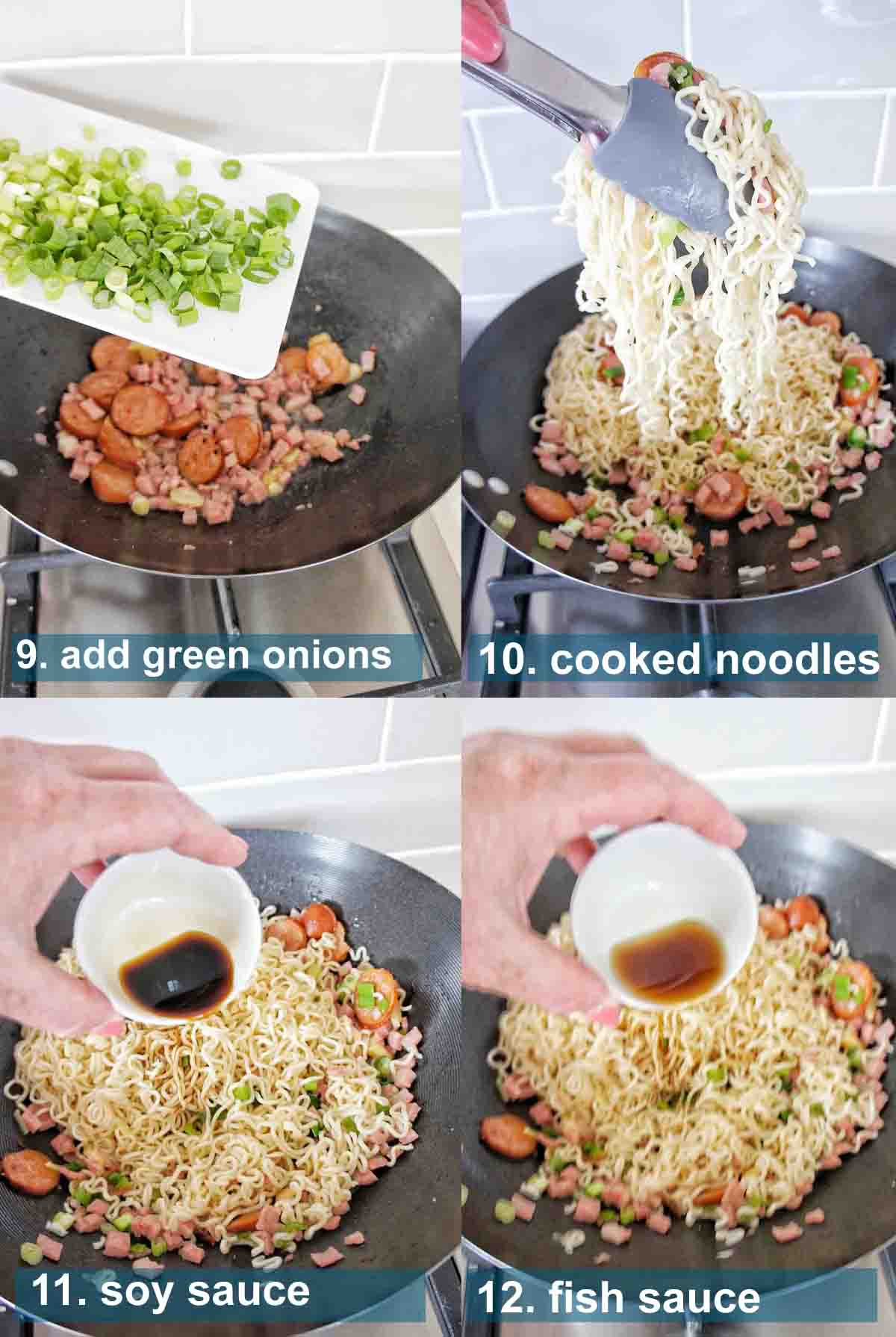 Hangover helper noodles 9 to 19 with text over lay