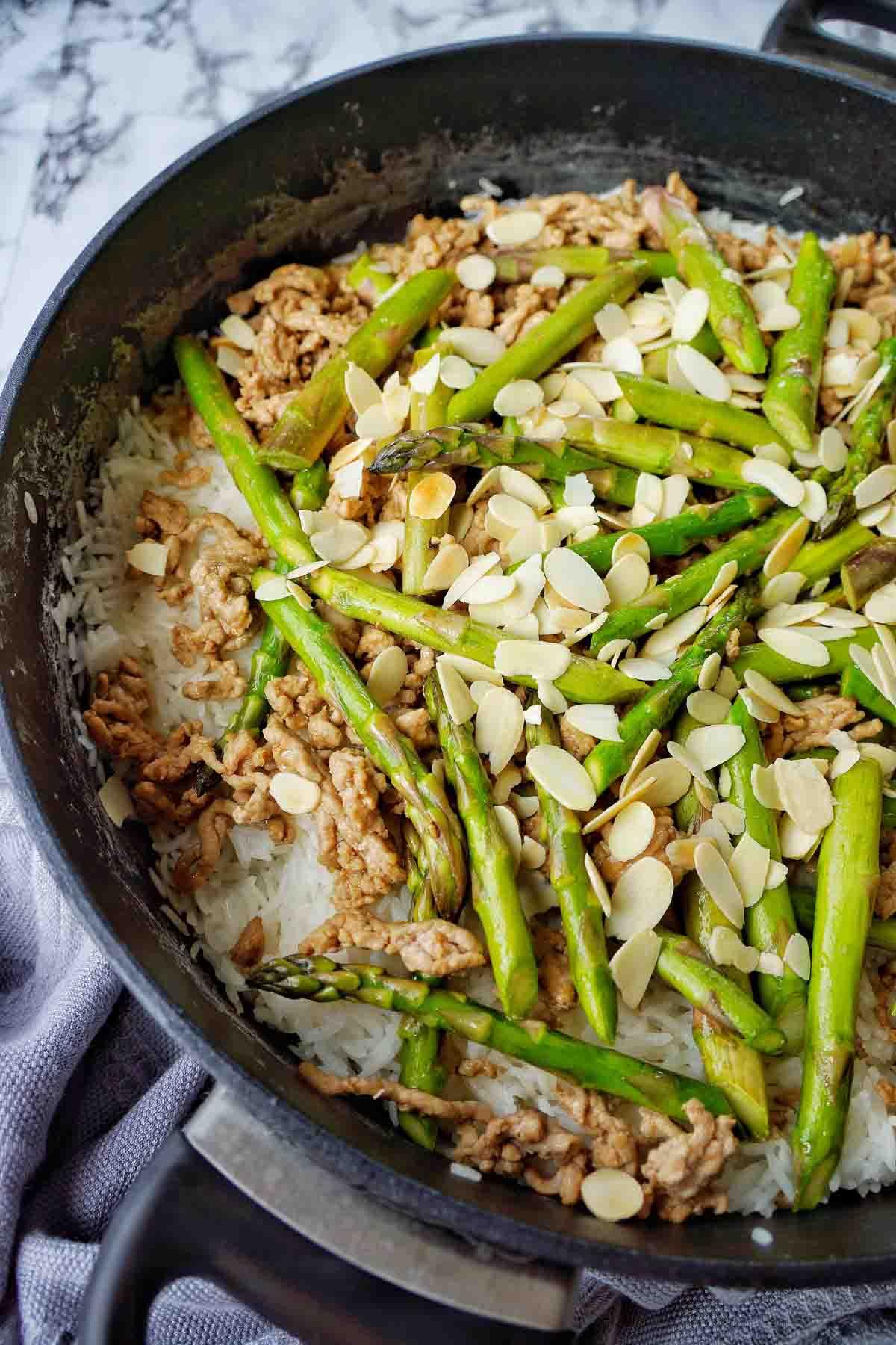 Pork Asparagus Oyster Sauce