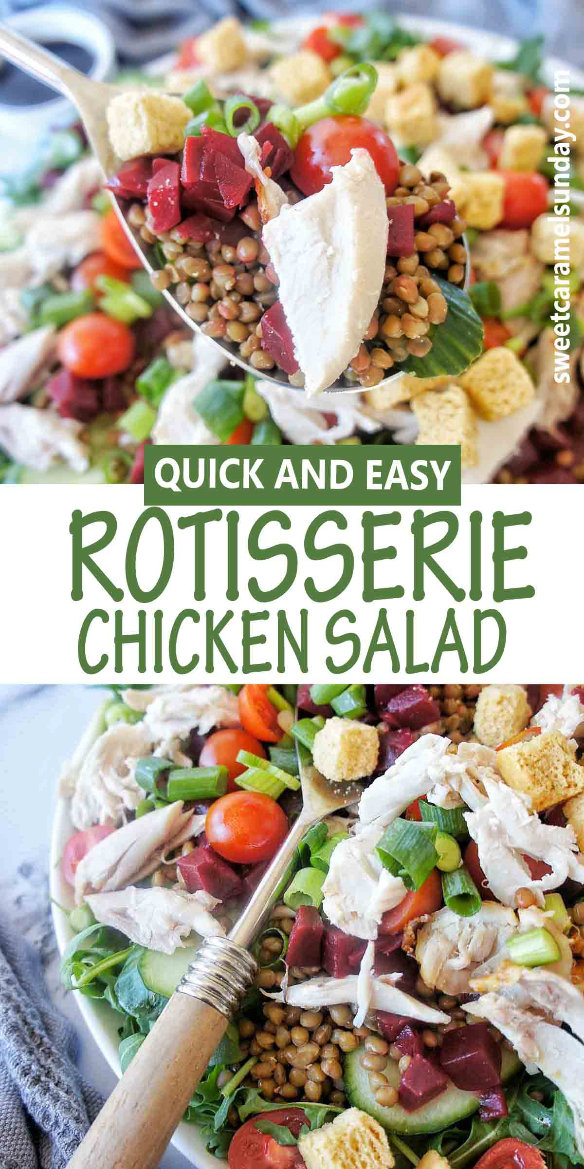 Easy Rotisserie Chicken Salad